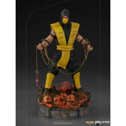 Estatua Scorpion Mortal Kombat Iron Studios Escala 1/10