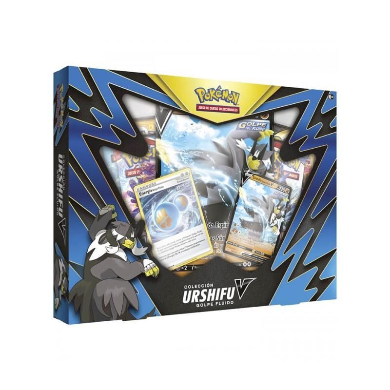 Cartas Pokémon Colección Urshifu Box Golpe Fluido Español