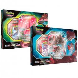 Cartas Pokémon Caja Combate Vmax Blastoise STD