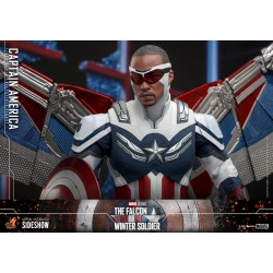 Figura Capitán America The Falcon and the Winter Soldier Hot Toys
