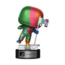 Figura MTV Moon Person rainbow Funko Pop Ad Icons 18