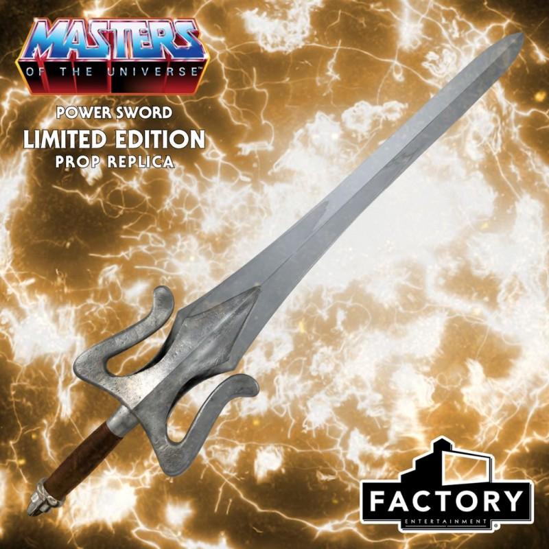 Réplica 1:1 Espada He-Man Masters del Universo MOTU