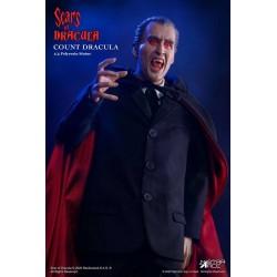 Estatua Drácula 2.0 Christopher Lee Scars Of Dracula DX Version Escala 1/4 Star Ace
