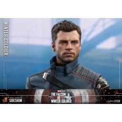 Set Figuras Capitán America y Soldado de Invierno The Falcon and the Winter Soldier Hot Toys