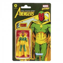 Figura Visión Marvel Legends Retro