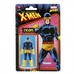 Figura Cíclope Marvel Legends Retro