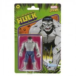 Figura Hulk Gris Marvel Legends Retro