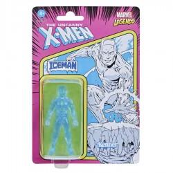 Figura Iceman Hombre De Hielo Marvel Legends Retro