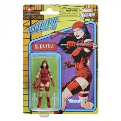 Imagén: Figura Elektra Marvel Legends Retro