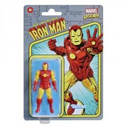Figura Iron Man Marvel Legends Retro