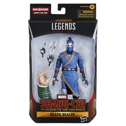 Figura Death Dealer Shang Chi Y La Leyenda de Los 10 Anillos  Marvel Legends