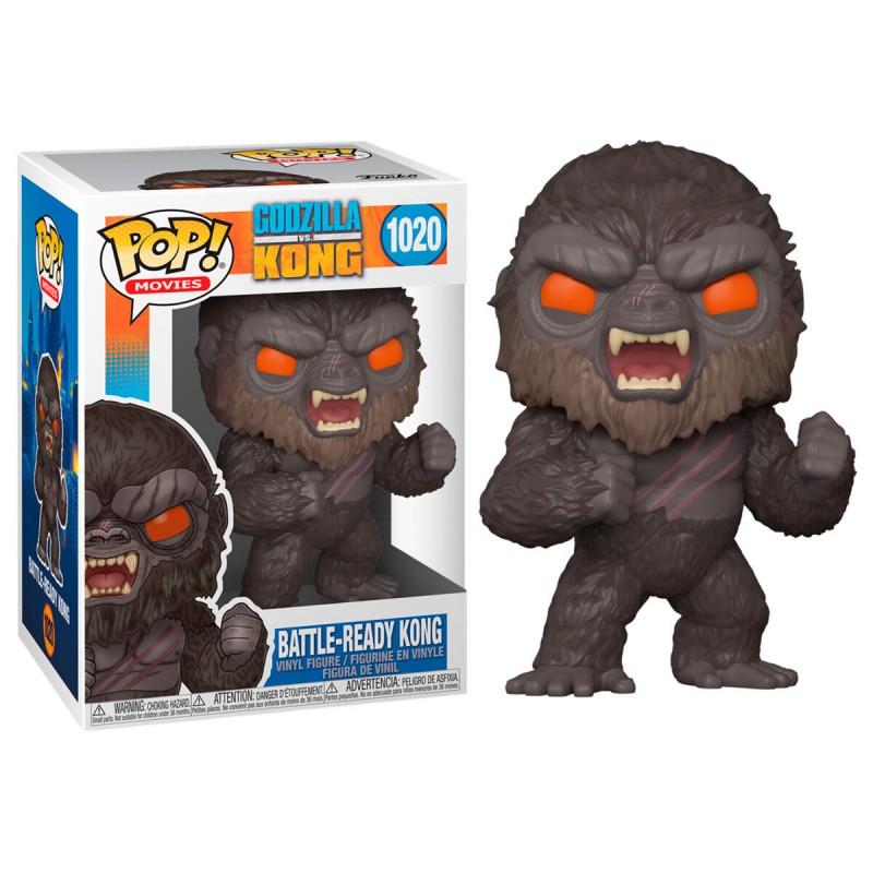 Figura Battle Ready Kong Vs. Godzilla POP Funko 1020