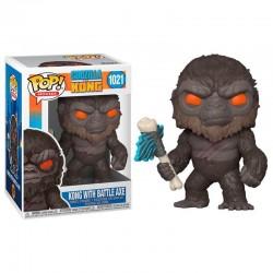 Figura Kong Hacha Godzilla...