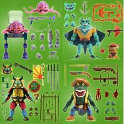 Figuras Tortugas Ninja Ultimates Wave 5 Super7 Set Completo
