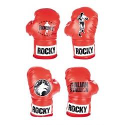 Pack 4 Guantes De Boxeo Decorativos Rocky