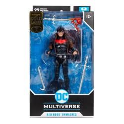 Figura Red Hood Unmasked Gold Label  DC Multiverse McFarlane Toys