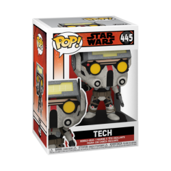 Figura tech The Bad Batch Star Wars Funko Pop 445