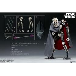 Figura Articulada General Grievous Escala 1:6 Star Wars Sideshow