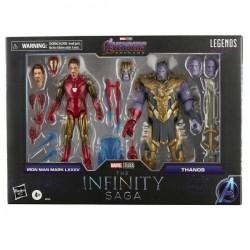 Pack Figuras Iron Man y Thanos The Infinity Saga Marvel Legends
