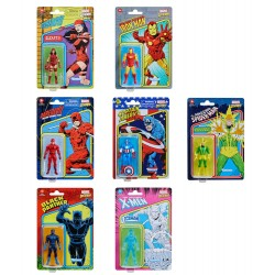 Pack 7 Figuras Marvel Legends Retro (2)