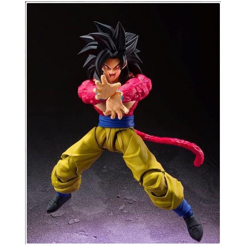 Figura Son Goku Super Saiyan SS4 Dragon Ball GT S.H. Figuarts