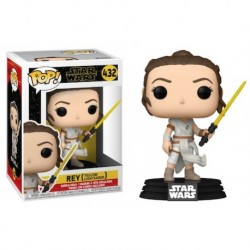 Figura Rey Con Sable Amarillo Star Wars Rise Of Skywalker POP Funko 432