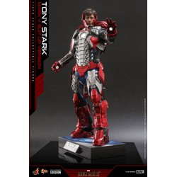 Figura Iron Man Tony Stark Mark V Up Version Hot Toys