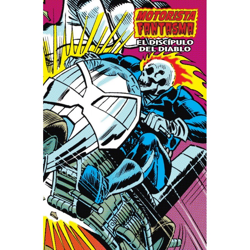 Motorista Fantasma: El Discípulo Del Diablo. Marvel Limited Edition