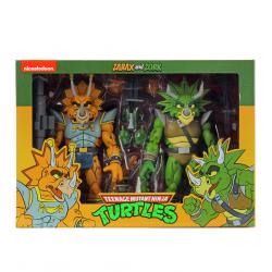 Pack 2 Figuras Capitán Zarax y Zork Cartoon Tortugas Ninja Neca
