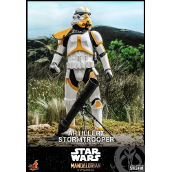 Figura Artillery Stormtrooper The Mandalorian Star Wars Hot Toys