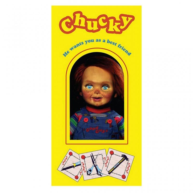 Toalla Chucky Muñeco Diabólico