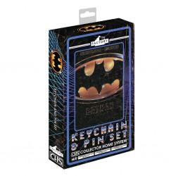 Pack Batman 1989 Llavero y Pin