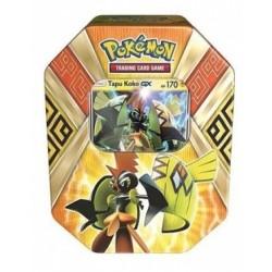 Lata Amarilla De Island Guardians del juego de cartas Pokémon TCG. Español