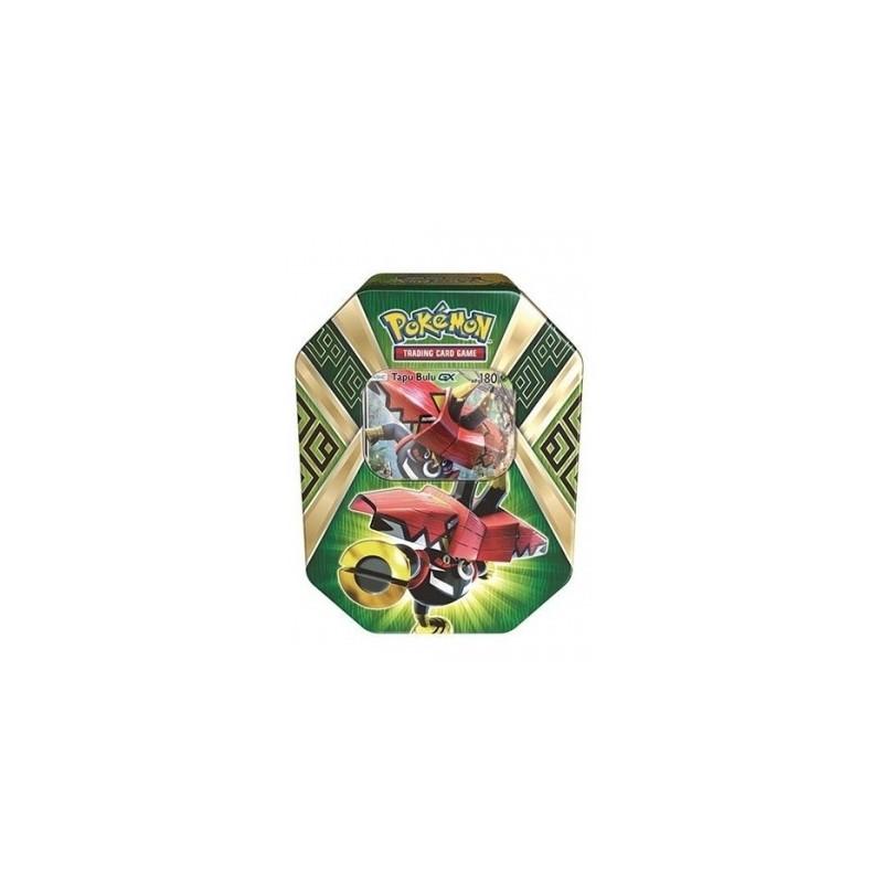 Lata Verde De Island Guardians del juego de cartas Pokémon TCG. Español