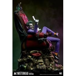 Estatua The Joker Deluxe Maquette Maquette Tweeterhead