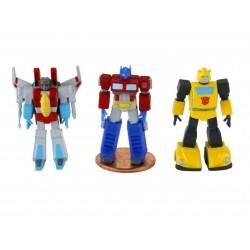 Set Figuras Transformers Micro Action Figures World´s Smallest