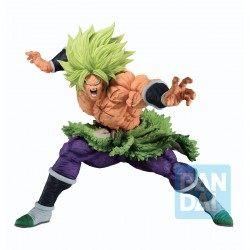 Figura Ichibanso Dragon Ball Z Full Power Super Saiyan Broly (Back To The Film)  Banpresto