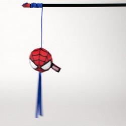 Varita Juguete Para Gato Spiderman