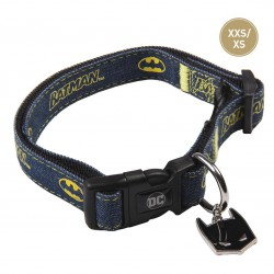 Collar Para Perro O Gato Batman Talla XXS-XS
