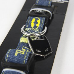 Collar Para Perro Batman Talla M-L