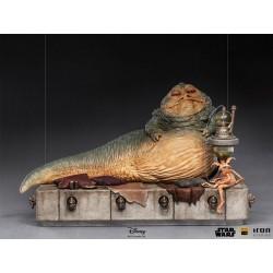 Estatua Jabba The Hutt Deluxe Escala 1:10 Star Wars Return Of The Jedi Iron Studios