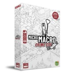 Micro Macro Crime City Juego de Mesa