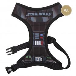 Arnés Para Perro Star Wars Darth Vader Talla M-L