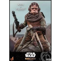 Pack Figuras Kuiil y Blurrg The Mandalorian Star Wars Hot Toys