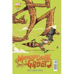 Mapache Cohete y Groot 20