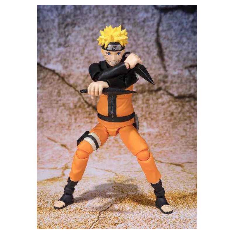 Figura Naruto Uzumaki Best Selection Naruto Shippuden Re-Issue S.H. Figuarts