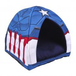 Cueva Cama Para Perro Capitán América