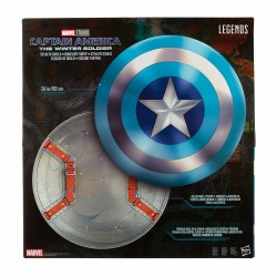 Escudo Sigilo Capitán América Winter Soldier Replica 1:1 Marvel Legends