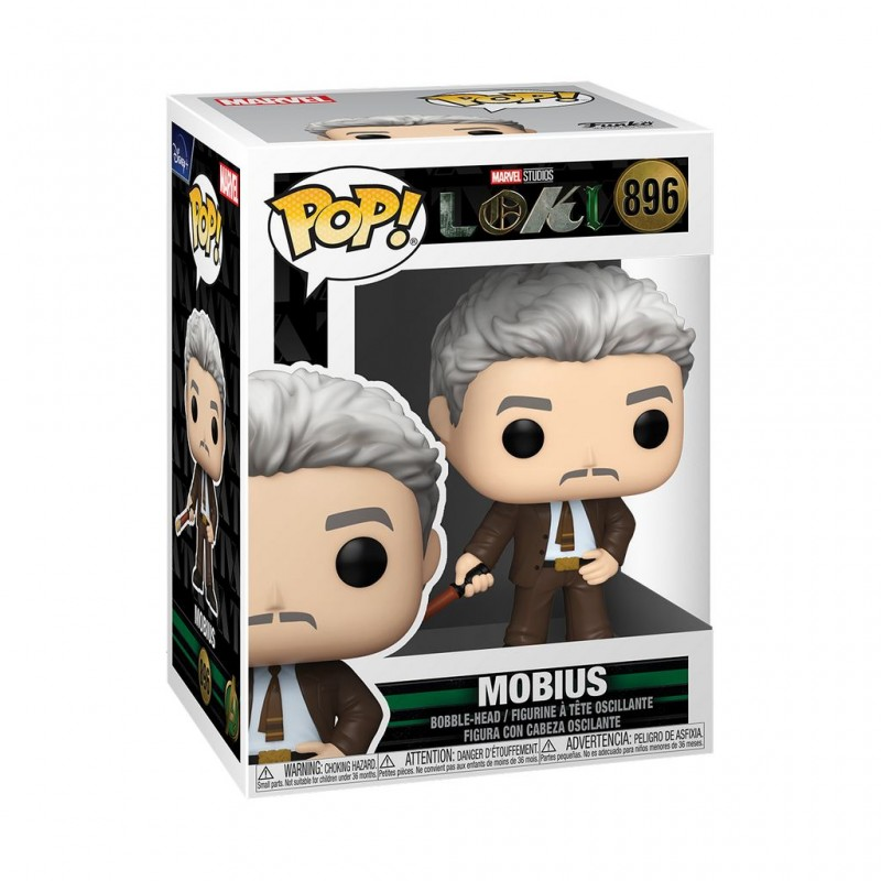 Figura Mobius Loki Marvel Funko Pop 896