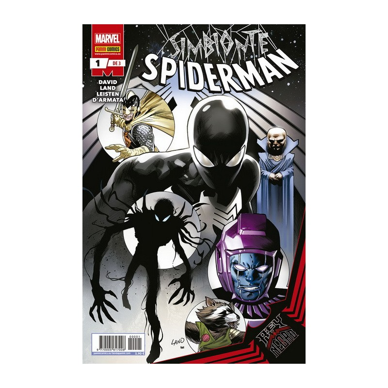 Rey de Negro: Simbionte Spiderman Colección Completa